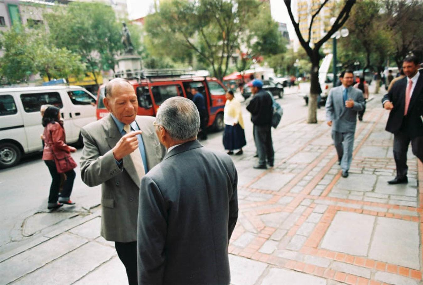 la paz bolivia jorge ferrufino